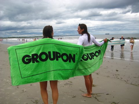 Groupon Coupons Saving Money At The Beach